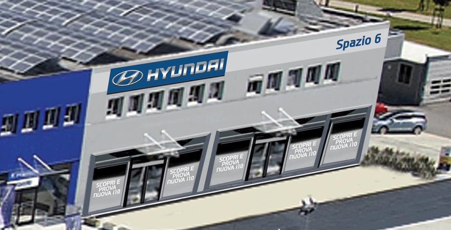 Nuova concessionaria Hyundai Spazio 6 Torino