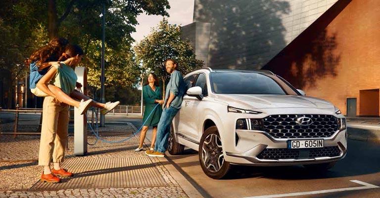 Hyundai Santa Fe promo a Torino