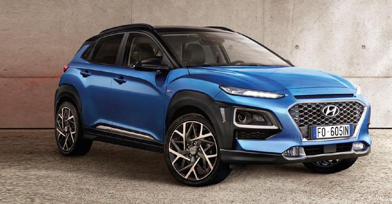 Hyundai Kona Hybrid Torino